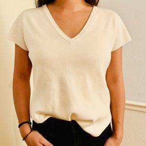 Emanuel Ungaro Silk Pullover Short Sleeve Shirt M